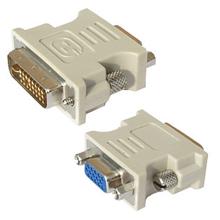 DVI Adapter, DVI-I male - HD DSUB female