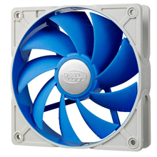 Deepcool 92mm Ultra silent fan with patented De-vibration TPE cover, BLUE, for case and psu