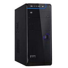 GF ATX-D512B-USB/Audio (glossy black) + ATX 420W (12cm/silent) CE PFC PSU