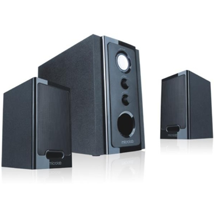 Microlab M-528 2.1 Speakers  30W RMS (9Wx2+12W)