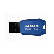 A-DATA DashDrive UV100 16GB Blue USB Flash Drive, Retail
