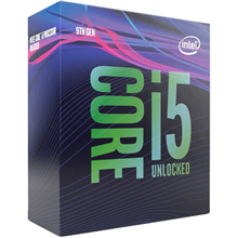 Intel i5-9400F, 2.9 GHz, LGA1151, Processor threads 6, Packing Retail, Component for PC
