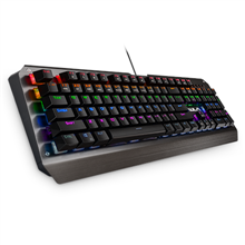 Aula Mechanical Assault Wired Keyboard, EN/RU, Mechanical, RGB LED light Yes (6 colors), Wired, Black