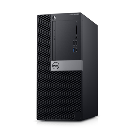 Dell OptiPlex XE3 Desktop, Tower, Intel Core i3, i3-8100, Internal memory 4 GB, DDR4, SSD 128 GB, Intel HD, 8x DVD+/-RW 9.5mm Optical Disk Drive, Keyboard language English, Windows 10 Pro, Warranty Basic Onsite 36 month(s)