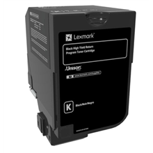 Lexmark 25K Black Return Program Toner Cartridge (CX725) Lexmark