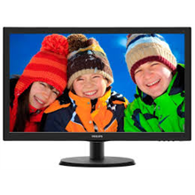 "PHILIPS 223V5LSB2 WLED Black 21.5"" LCD 1920 x 1080/ 16:9 Full HD/ 0.248/ 5ms/ 10.000.000:1"