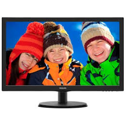 "PHILIPS 223V5LSB2 WLED Black 21.5"" LCD 1920 x 1080/ 16:9 Full HD/ 0.248/ 5ms/ 10.000.000:1"
