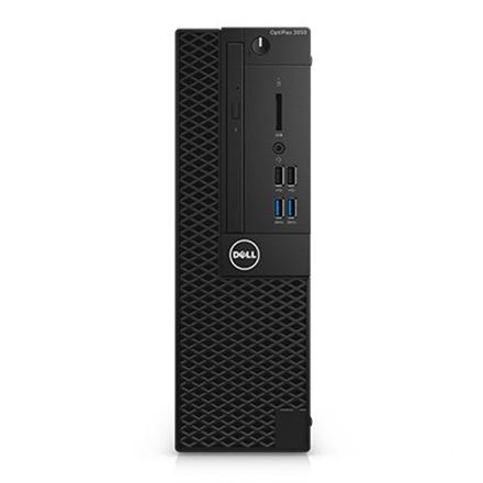 Dell OptiPlex 3050 Desktop, SFF, Intel Core i3, i3-7100, Internal memory 4 GB, DDR4, SSD 128 GB, Intel HD, DVD-RW Drive (Reads and Writes to DVD CD), Keyboard language English, Windows 10 Pro, Warranty Basic Next Business Day 36 month(s)