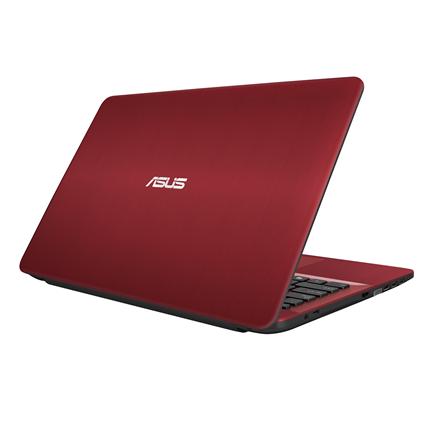 Asus VivoBook A541UA Red, 15.6 , FHD, 1920 x 1080 pixels, Matt, Intel Core i3, i3-6006U, 4 GB, DDR4, SSD 128 GB, Intel HD, Without ODD, Endless OS, 802.11 b g n, Bluetooth version 4.0, Keyboard language English, Warranty 36 month(s), Battery warrant