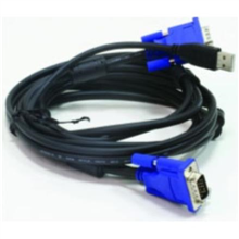 D-LINK DKVM-CU, 2 in 1 USB KVM Cable in 1.8m