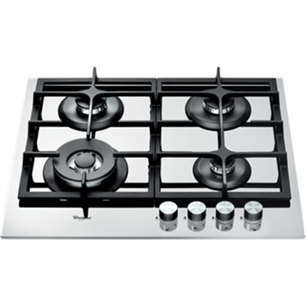 Whirlpool AKT 6465 WH Gas, Number of burners cooking zones 4, White,