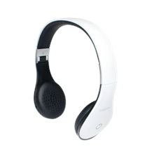 Logilink Headset BT0038 Bluetooth v4.1+EDR, White,