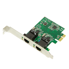 Logilink PC0075, 2-port Gigabit PCI Express network card