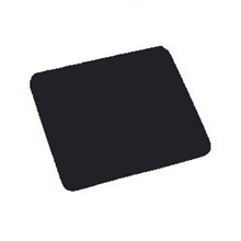 Gembird MP-A1B1-BLACK Black cloth mouse pad
