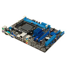 ASUS M5A78L-M LX3 / AMD 760G (780L)/SB710 / 2 x DIMM, Max. 16GB, DDR3, Dual channel / Expansion: 1