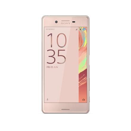Sony Xperia X (F5121) Rose, 5.0 , IPS LCD, 1080 x 1920 pixels, Qualcomm, Snapdragon 650, Internal RAM 3 GB, 32 GB, MicroSD (TransFlash), SDXC, Single SIM, NanoSIM, 3G, 4G, Main camera 23 MP, Second camera 13 MP, Android, 6.0.1, 2620 mAh