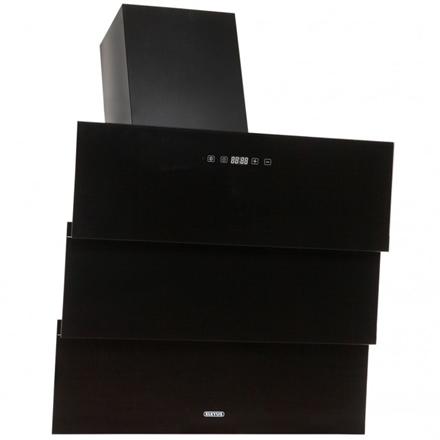 Hood Eleyus Troy 1000 60 BL LED Wall mounted, Width 60 cm, Black, Energy efficiency class C, 48.6 dB