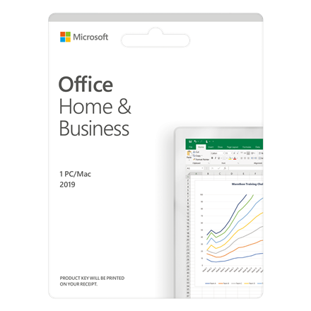 Microsoft  Office Home and Business 2019 ,  Medialess