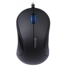 A4Tech mouse N-322 V-Track Padless USB, 8-in-One software, 4-way wheel (Black)