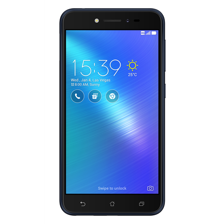 Asus ZenFone Live ZB501KL Navy Black, 5.0 , IPS LCD, 720 x 1280 pixels, Qualcomm Snapdragon 400, MSM8928, Internal RAM 2 GB, 16 GB, microSD, Dual SIM, Nano-SIM, 3G, 4G, Main camera 13 MP, Second camera 5 MP, Android, 6.0, 2650 mAh, Warranty 24 month
