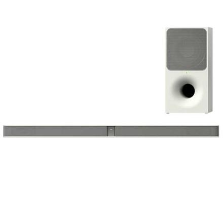 Sony HT-CT291 2.1ch Soundbar, Mountable, White