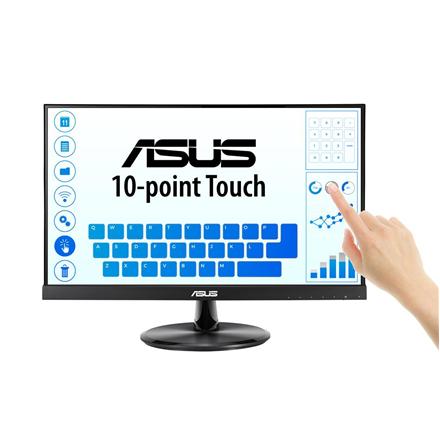 "Asus VT229H 21.5 "", Touchscreen, IPS, FHD, 1920 x 1080 pixels, 5 ms, 250 cd/m², Black"