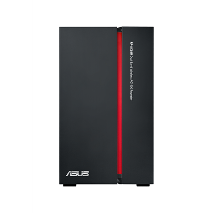 Asus Repeater RP-AC68U 10/100/1000 Mbit/s, Ethernet LAN (RJ-45) ports 4, 2.4GHz/5GHz, Wi-Fi standards 802.11ac, 600+1300 Mbit/s, Antenna type Internal, Antennas quantity 4