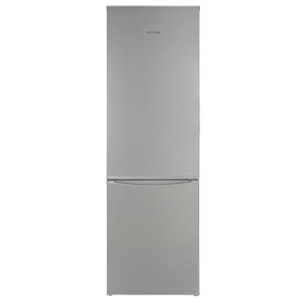 VestFrost Refrigerator GN312 S Free standing, Combi, Height 170 cm, A+, Fridge net capacity 172 L, Freezer net capacity 67 L, 41 dB, Silver