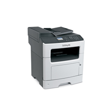"Lexmark MX310dn Multifunction Mono Laser Printer/ Print, copy, scan, fax/ 1200 x 1200 dpi/ 35 ppm/ 800 MHz/ 256 MB/ 300-Sheet Input/ 2,4"" LCD Display/Ethernet 10/100/100/ USB 2.0/ White"