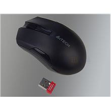 A4Tech Mouse G3-200N, V-Track padless, black wireless, mouse