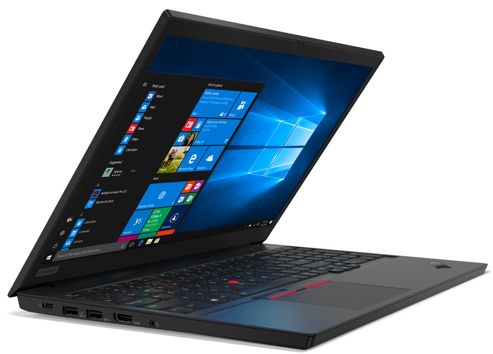 Lenovo  ThinkPad E15 Black