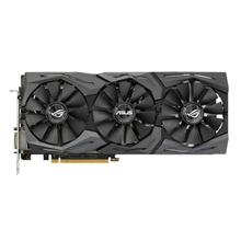 ASUS STRIX-GTX1060-O6G-GAMING Asus ROG STRIX-GTX1060-O6G-GAMING NVIDIA, 6 GB, GeForce GTX 1060, GDDR5-SDRAM, Memory clock speed 8208 MHz, PCI Express 3.0, HDMI ports quantity 2, DVI-D ports quantity 1, Cooling type Active, Processor frequency 1645 MHz