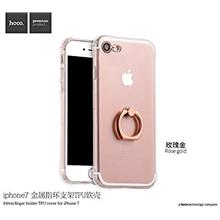 hoco. Metal Finger Holder serie Case, Apple, iPhone 7 Plus/8 Plus, TPU, Rose Gold