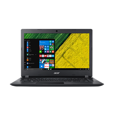"""Acer Aspire 3 A315-51 Black, 15.6 """", HD, 1366 x 768 pixels, Matt, Intel Core i3, i3-7100U, 4"""