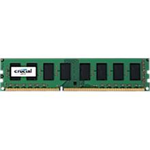 Crucial UDIMM 8GB DDR3-1600, PC3-12800, Unbuffered, NON-ECC , CL11, 1024Meg x 64, 1.35V