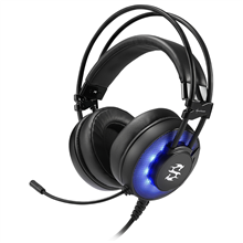 Sharkoon Stereo Headset, USB, Skiller SGH2, Black, Built-in microphone