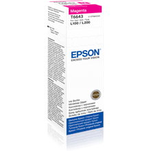 Epson T6643 Ink bottle 70ml Ink Cartridge, Magenta