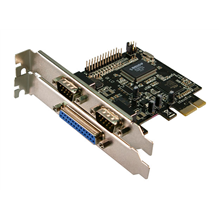Logilink PC0033, PCI-express interface card, 2x com(serial)+1x lpt(paralel),