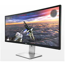 "DELL LCD UltraSharp U3415W 34 Curved Monitor 34"" Widescreen Anti-glare with hard-coating 3H /"