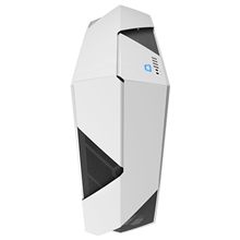 NZXT Noctis 450 Glossy White,  Midl tower, Window,  2 x USB 3.0, 2x USB 2.0  w/o PSU, mATX / ATX