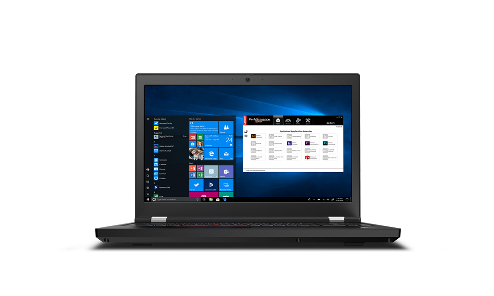 Lenovo  ThinkPad P15 (Gen 1) Black
