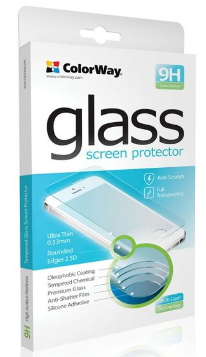 ColorWay 9H 2.5D CW-GSRESJ710 Screen protector, Samsung, Galaxy J7 (2016), Tempered glass, Transparent