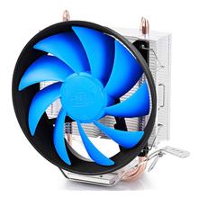 "Deepcool ""Gammaxx 200"" universal cooler, 2 heatpipes, 120mm fan, Intel Socket LGA115x / 775, 125 W TDP and AMD Socket FMxx/AMxx , 100W TDP"