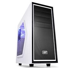 Deepcool TESSERACT SW White Midl tower, USB 3.0 , Window, black inside, w/o PSU, mATX / ATX