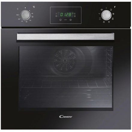 Candy FPE629 6NXL Multifunction Oven, 69 L, Black, AQUA clean system, A, Push Pull Knobs, Height 60 cm, Width 60 cm, Integrated timer