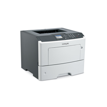 Lexmark MS610dn Monochrome Laser Printer/ 1200 x 1200 dpi/ 50 ppm/ 800 MHz/ 256 MB/ 650-Sheet Input/ LCD Display/ Ethernet 10/100/100/ USB 2.0/ White