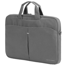 "Sumdex CC-014 Fits up to size 14 "", Grey, Polyester, Notebook case"