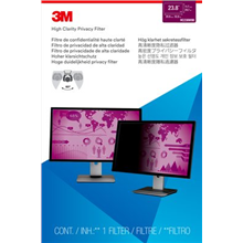"""3M HC238W9B High Clarity Privacy Filter for LCD Monitor 23.8"""" (16:9)"""