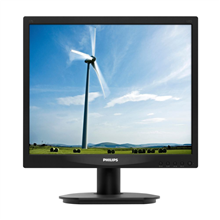 "PHILIPS 17S4LSB/00 17"" 1280x1024/ 250cdqm/ 1000:1/ 5:4/ 5ms/ VGA,DVI-D/ Black"