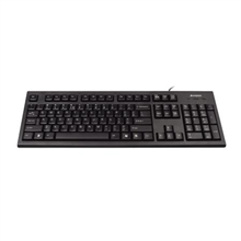 A4Tech keyboard + optical mouse (KR-85+OP-620D) USB (Black) (US)